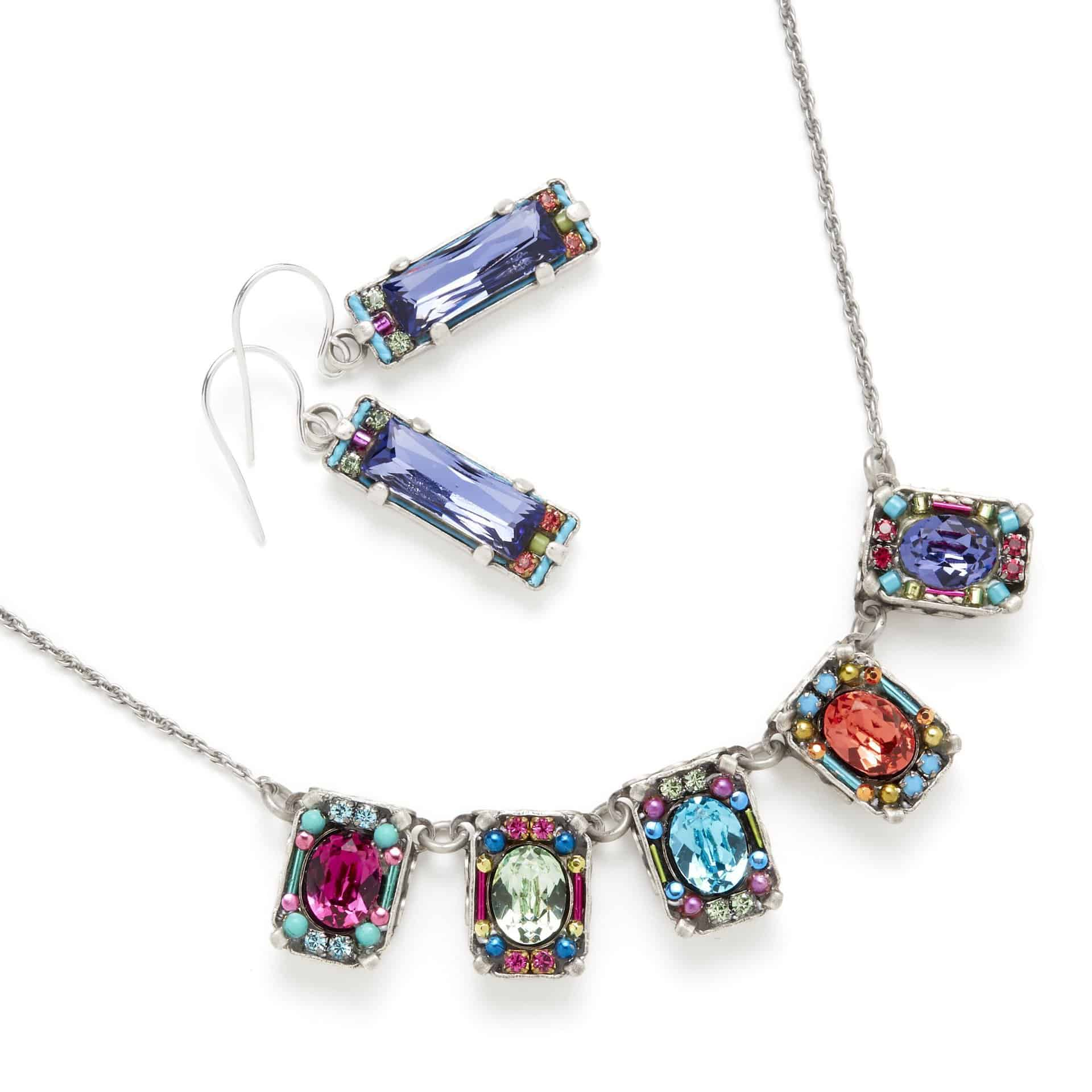 Composite of jewelry clipped out for e-commerce.